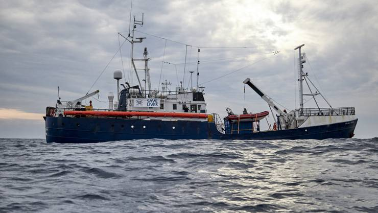 Italiens Innenminister Matteo Salvini will ein deutsches Schiff mit 64 geretteten Flüchtlingen nicht in italienische Hoheitsgewässer einlaufen lassen. (Fabian Heinz/Sea-eye.org via AP)