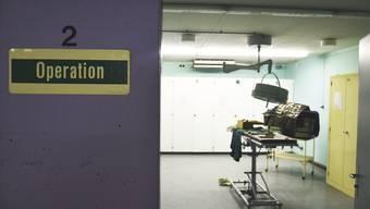 Geschützte Sanitätsstelle unter der Kantonsschule Olten