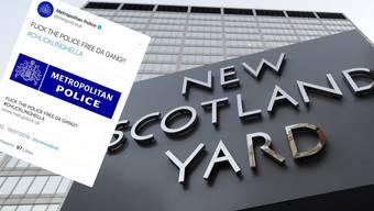 Unbekannte Hacker haben den Twitter Account der Londoner Polizei geknackt.