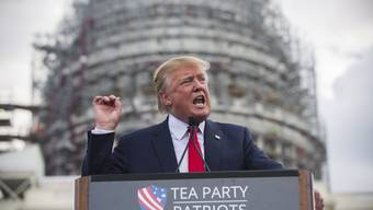 Der republikanische Präsidentschaftskandidat Donald Trump protestierte vergebens: Die Blockade des Atomabkommens scheiterte im Senat.