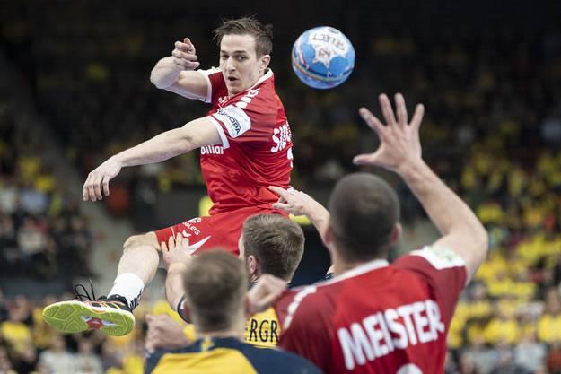 Erinnert sich an ein Europacup-Spiel mit seinem vormaligen Verein Pfadi Winterthur: Roman Sidorowicz.