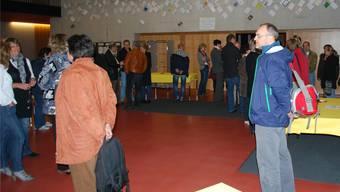 Eltern und Lehrerschaft trafen sich am OSZF-Forum.