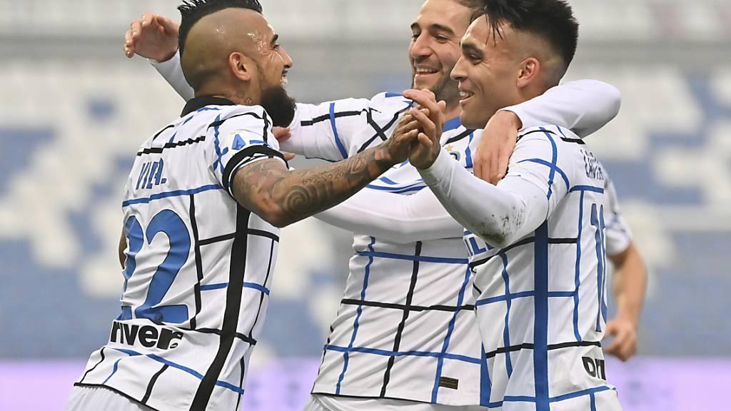Inters Auswärtssieg gegen das Überraschungsteam Sassuolo