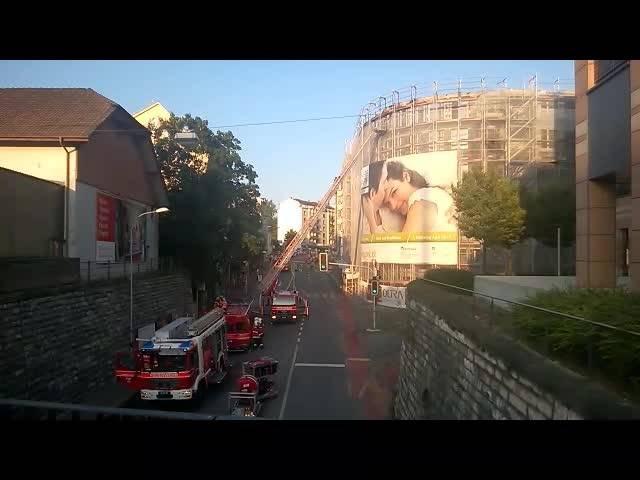 Die Feuerwehr hat den Brand in Olten gelöscht.