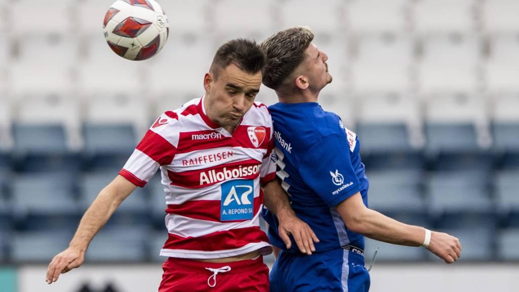 Luzern spielt gegen Sion nur unentschieden