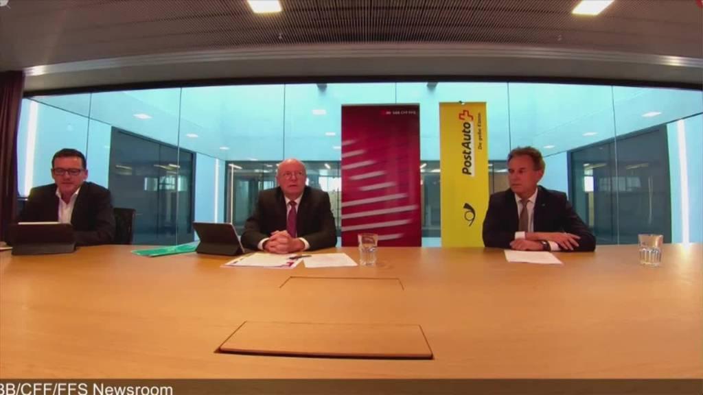 Ganze Pressekonferenz: SBB informiert zum Schutzkonzept im öffentlichen Verkehr