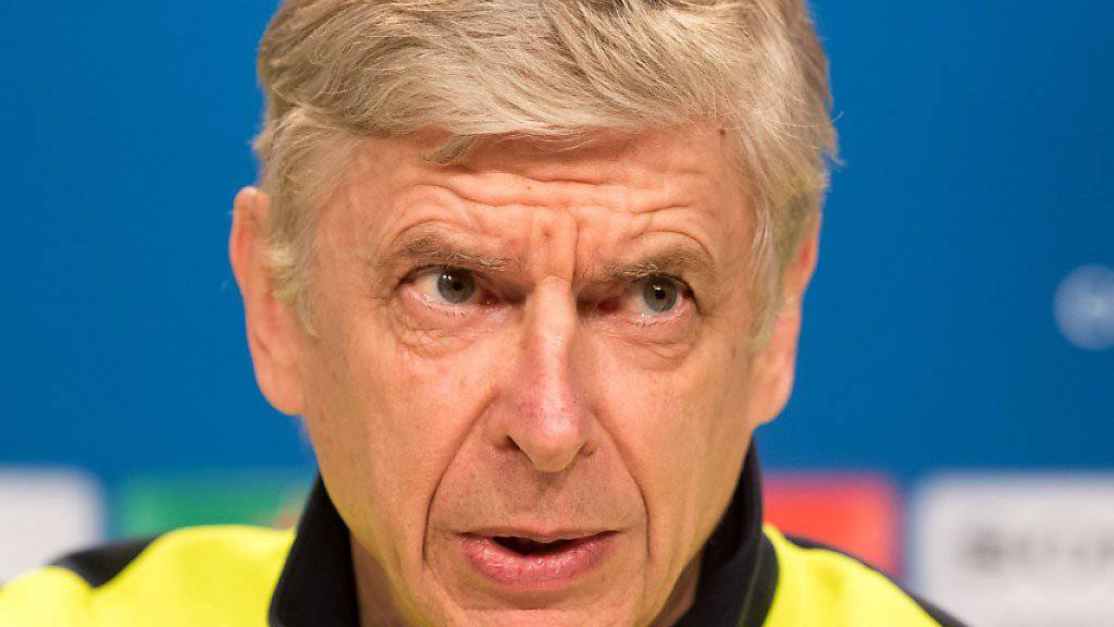 Arsène Wenger nimmt seine Arbeit bei Arsenal ernst