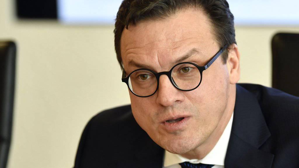 Swiss-Life-CEO Patrick Frost hat 2018 seine Ziele erreicht und erfüllt nun das Dividendenversprechen. (Archivbild)