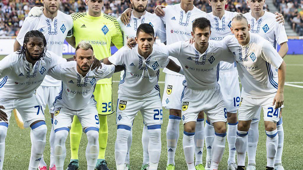 Dynamo Kiew führt nach der 1. Runde die Tabelle der YB-Gruppe an