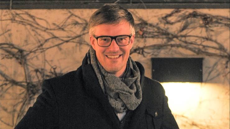Martin Bammerlin ist mutig – und überzeugt, dass sein Werk bei den Baslern Anklang finden wird.