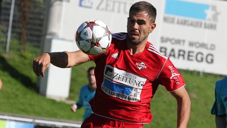 Goran Antic traf zweimal und wurde zum Matchwinner für den FC Baden.