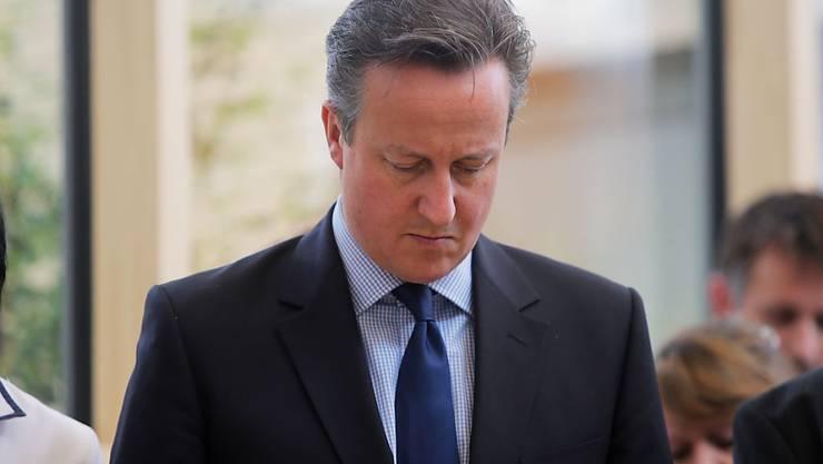 Der britische Premierminister David Cameron hält am Freitag eine Schweigeminute ab für die Opfer des Terrorangriffs in Tunesien (Archivbild).
