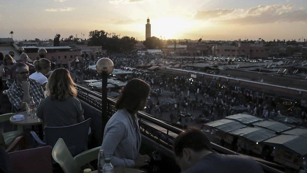 Bei einer Schiesserei in einem Touristenviertel in Marrakesch ist eine Person getötet worden. (Archivbild)