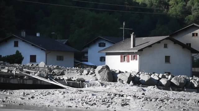 Ein Jahr nach dem Bergsturz: Bondo bleibt unsicher