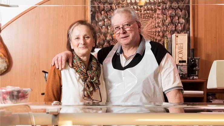 Maria und Paolo Altieris Metzgerei ist im Dorf zu einer Institution geworden.