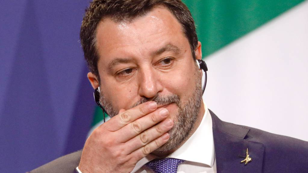 Matteo Salvini, Vorsitzender der italienischen Lega, dringt auf eine Rückkehr Italiens zur Atomkraft.