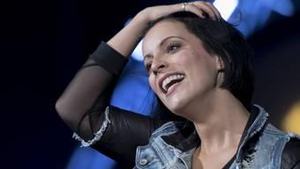 Bloss keine voreiligen Pläne: Die schwangere Silbermond-Sängerin Stefanie Kloss geht das künftige Familienleben entspannt an. (Archivbild)
