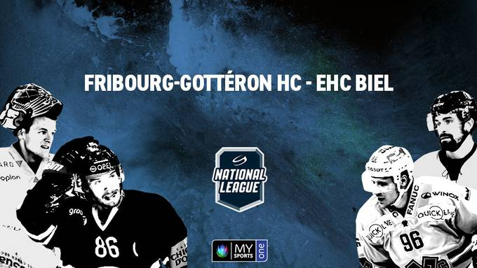 Eishockey: National League: Fribourg-Gottéron HC - EHC Biel
