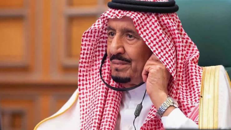 Saudi-Arabiens 84-jähriger König Salman ist wegen einer Erkrankung ins Spital eingeliefert worden. (Archivbild)