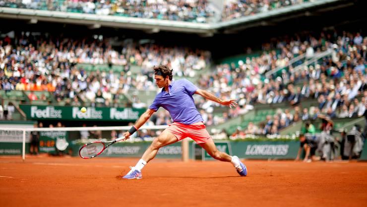 Spielt Roger Federer nicht, wie beispielsweise seit drei Jahren nicht mehr an den French Open, ist das Schweizer Tennis höchstens noch Mittelmass.
