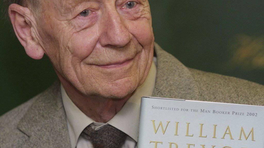 William Trevor starb im Alter von 88 Jahren. (Archivbild)