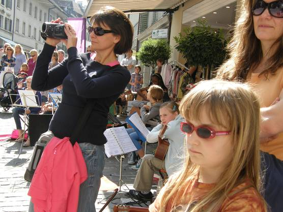 Die Musikschule Bremgarten bot dem Publikum ein Programm, das mit seiner Vielfalt kaum zu überbieten war.