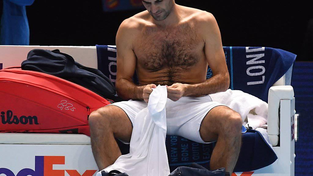Harte Arbeit auf dem Platz, Relaxen an den freien Tagen: Roger Federers Routine in London