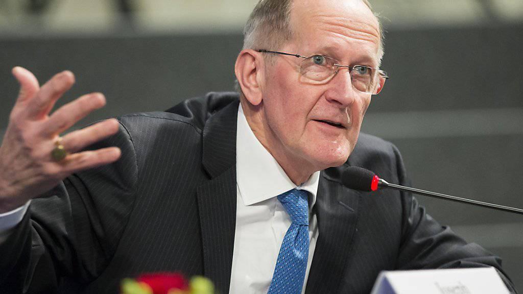 """""""EU-Beitritt wäre ein Gewinn an Souveränität"""": Joseph Deiss, früherer CVP-Bundesrat und Aussenminister. (Archivbild)"""