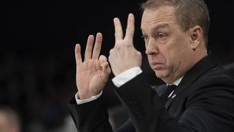 Auch alle Anweisungen von Coach Greg Ireland nützen Lugano nicht