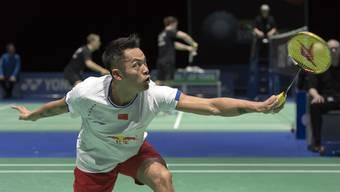 Mit Lin Dan spielt in der Joggelihalle der Roger Federer des Badminton-Sports.