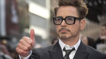 Daumen hoch für Hollywoods Teuersten: Robert Downey Jr. (Archiv)