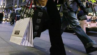 Amerikaner zeigen sich wenig konsumfreudig (Symbolbild)