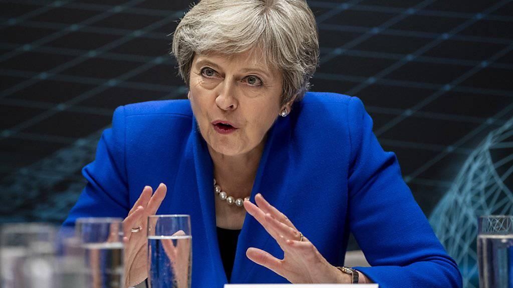 Viel Erklärungsbedarf punkto Brexit: die britische Premierministerin Theresa May.