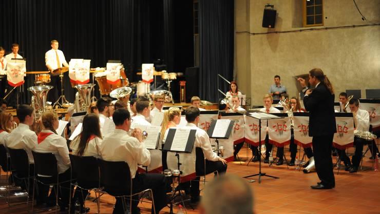 Die A-Band stand dieses Mal unter der Leitung von Roland Fröscher aus Belp.