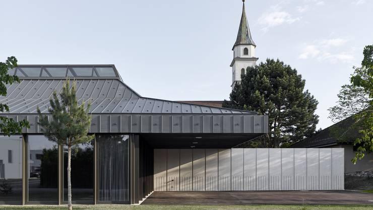 Das neue Pfarreizentrum Kriegstetten-Gerlafingen der Kirchgemeinde wurde mit einem «Priisnagel» 2019 ausgezeichnet.