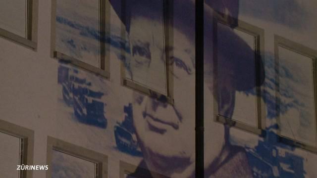 Lichtshow erinnert an Churchills Rede in Zürich