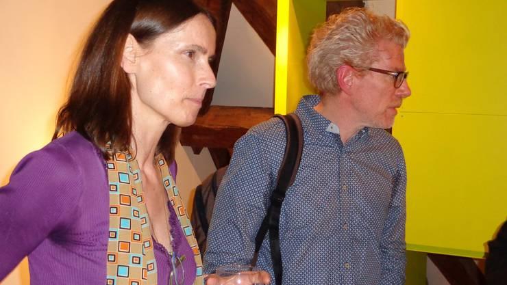 Petra Würth und Michael Theurillat sorgten im Kultur-Historischen Museum für einen vergnüglichen Krimiabend.
