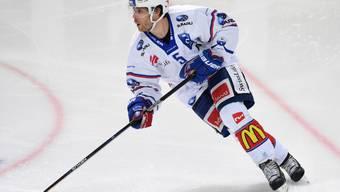 Severin Blindenbacher führte die ZSC Lions mit zwei Treffern zum Sieg über Fribourg-Gottéron