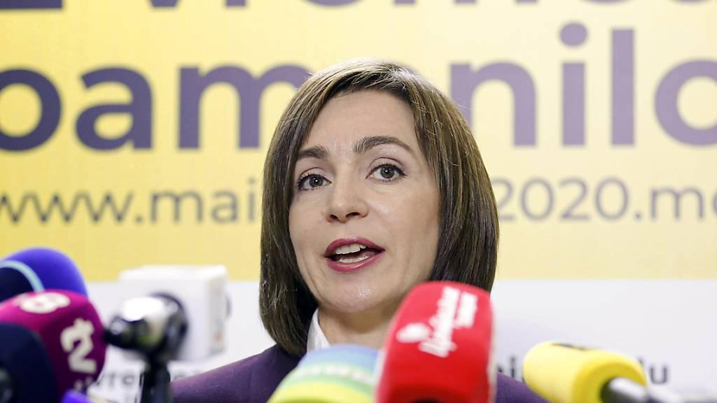 Erste Präsidentin in Moldau: EU-freundliche Sandu gewinnt