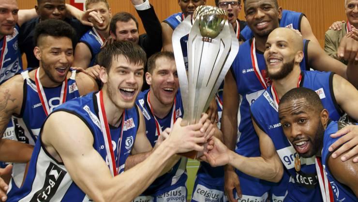 Fribourg Olympic ist zum 16. Mal Schweizer Basketball-Meister