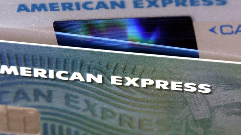 Dank ausgabefreudiger Kreditkartenkunden hat American Express im vergangen Jahr stark zugelegt. (Archivbild)