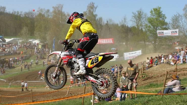 Auch dieses Jahr verspricht das Motocross Wohlen in zwei Wochen wieder viel Spektakel. ZVG