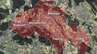 Die CVP und FDP Mägenwil skizzierten 2017 als mögliches Szenario eine Fusion von Mellingen, Stetten, Tägerig, Wohlenschwil und Mägenwil. Jedoch verfolgten sie die Idee nicht weiter. Nun kommt wieder Bewegung ins Thema Fusion.