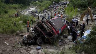 Schweres Busunglück in Guatemala
