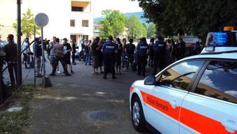 Die Polizei sieht sich nach den Ereignissen am Harassenlauf mit schweren Vorwürfen konfrontiert.  Big