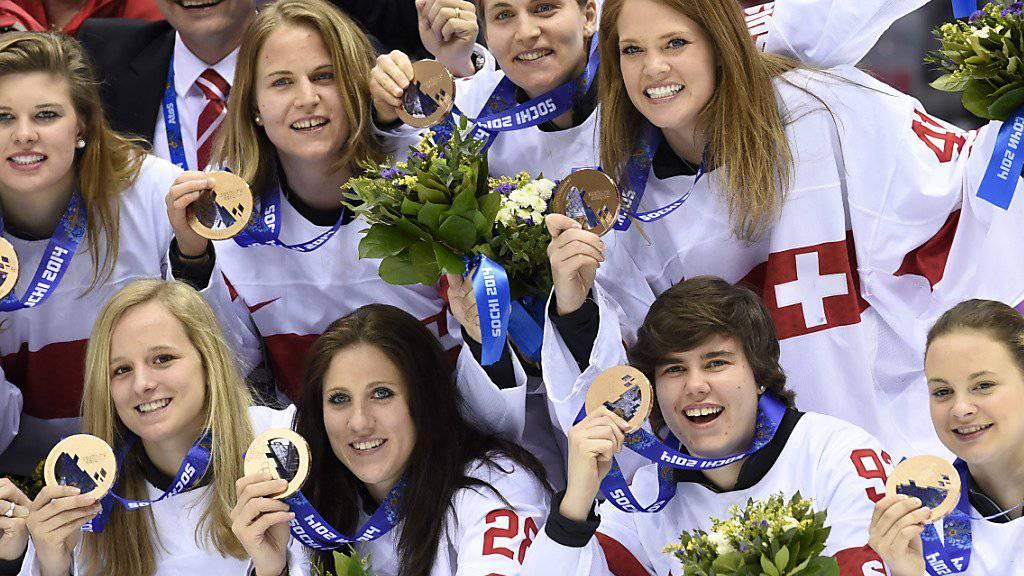 Die Schweizer Eishockey-Frauen schrieben in Sotschi mit dem Gewinn der Bronzemedaille eine Erfolgsgeschichte. Nun wollen sie in Pyeongchang wieder glänzen.