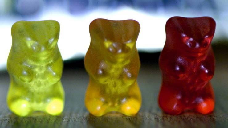 Haribo hat mit Produktionsproblemen zu kämpfen. Im Bild die Goldbären des deutschen Süsswarenherstellers. (Archivbild)