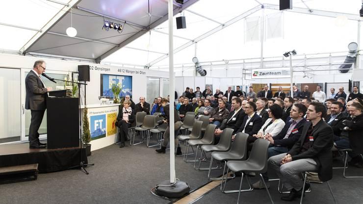 Benno Krämer bei seiner Ansprache