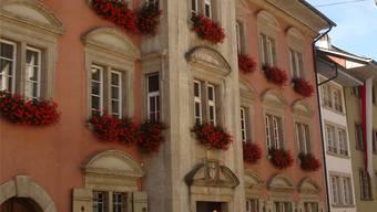 Das Rathaus in Lenzburg.