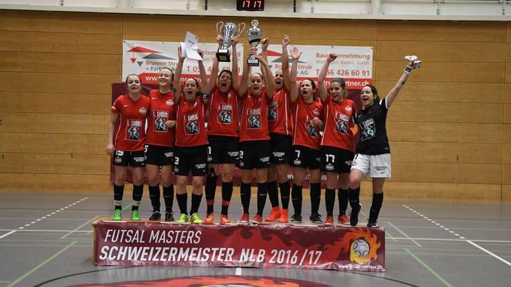 Siegerteam Uni Futsal Team Bulle, NLB.